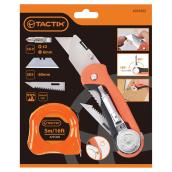 Multi-Function Knife 3-in-1 and 16' Tape Measure Kit