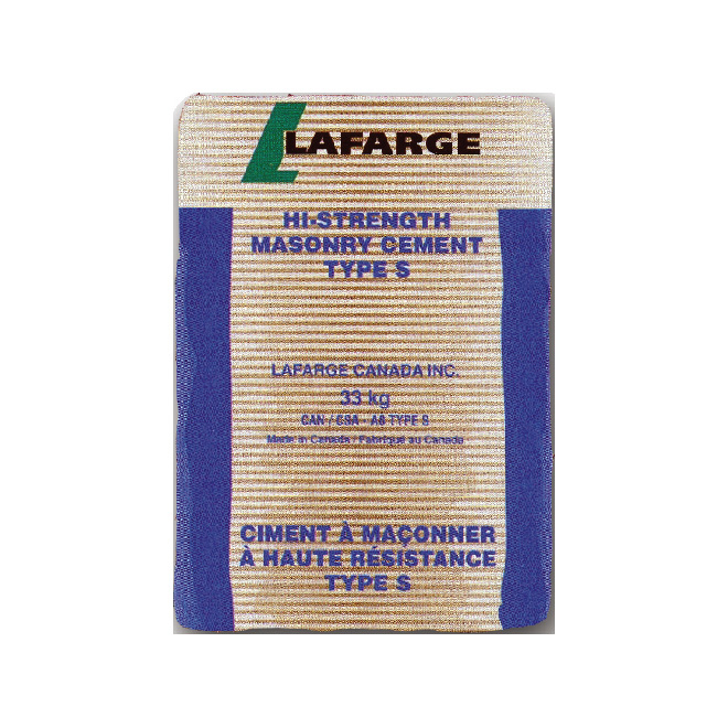 High-Strength Masonry Cement - Type S - 33 kg