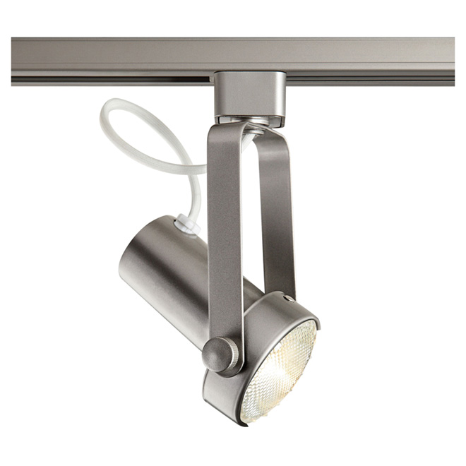 Linear Track Lighting Head - Silver