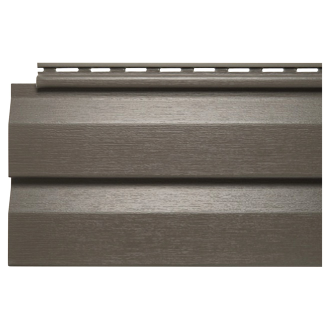 Vinyl D4.5DL Siding, Rockaway Grey - 12'