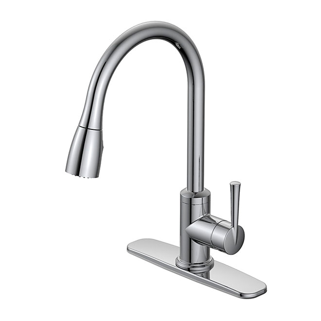 Industrial Kitchen Faucet Rona