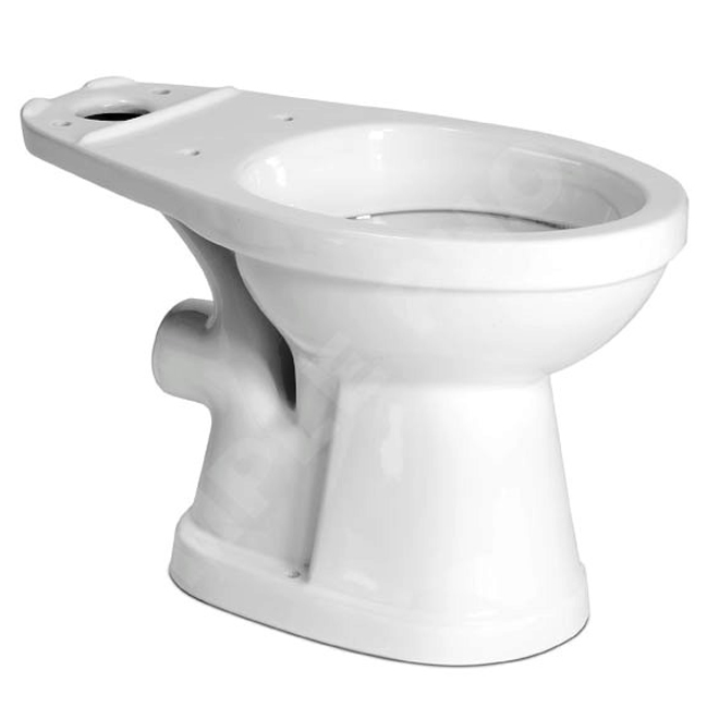 cuvette de toilette ronde saniplus blanc rona. Black Bedroom Furniture Sets. Home Design Ideas