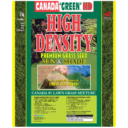High-Density Sun and Shade Grass Seed - 2 kg