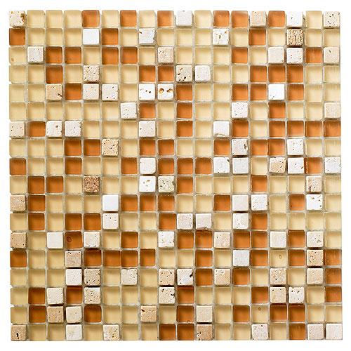 carreaux de verre et pierre pour mur mosiaco rona. Black Bedroom Furniture Sets. Home Design Ideas