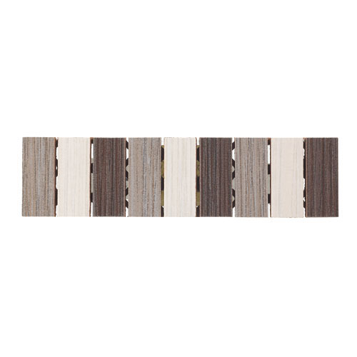 "Ceramic Wall Tiles - 2"" x 8"" - White/Cherry"