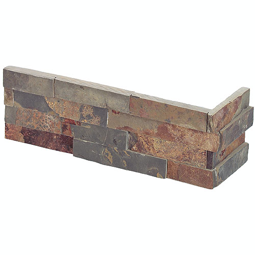 """Ledgestone"" Corner Wall Ceramic"
