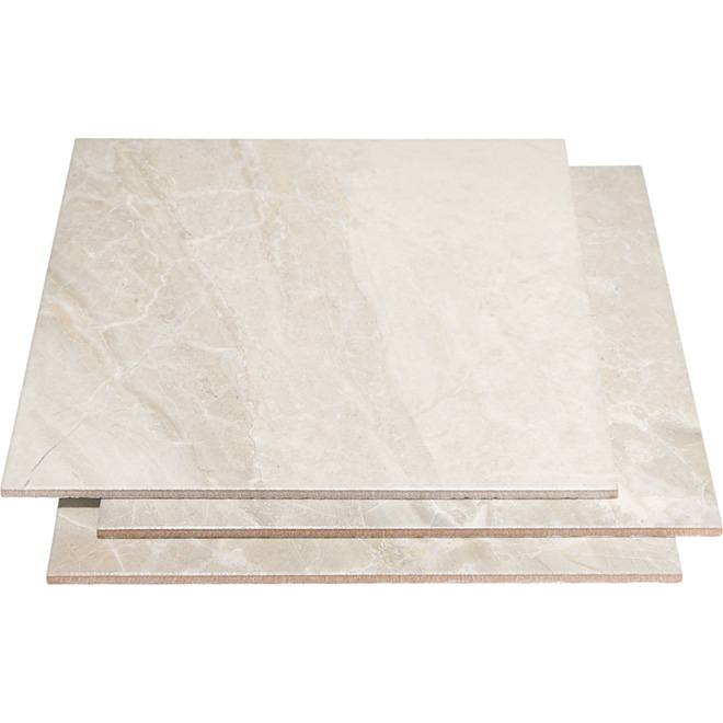 """Medea"" Ceramic Tile - 13,5'' x 13,5'' - 15/box - Grey"