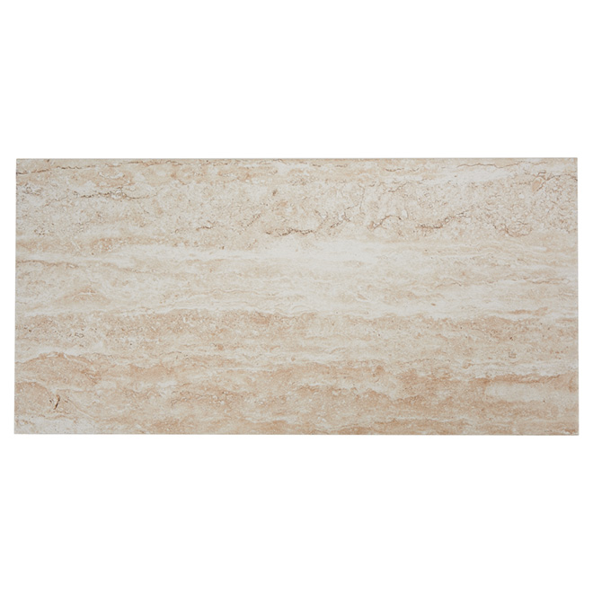 Porcelain Tiles - Wall/Floor -Travertino - 8/Box