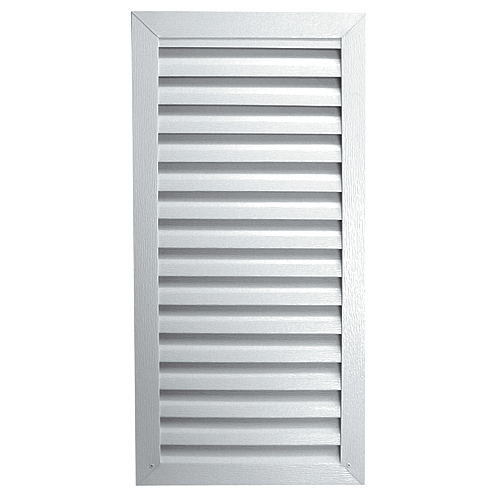 "Rectangular Gable Vent 12"" x 18"" - White"