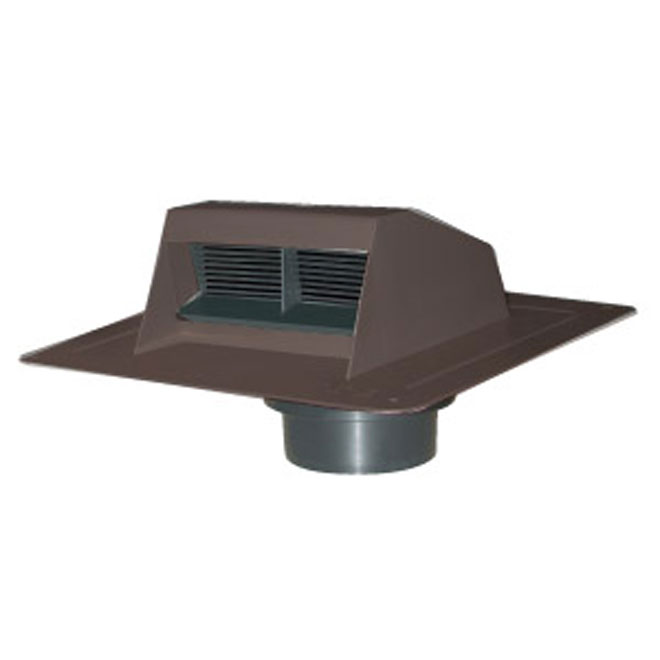 Brown Ventilation Plastic Roof Vent Exhaust
