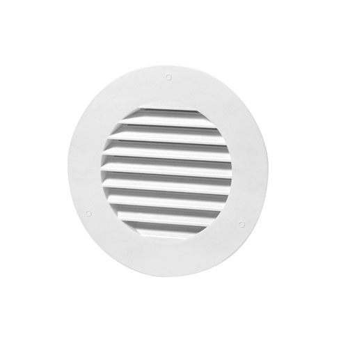 "Round Soffit Vent 4"" - White"