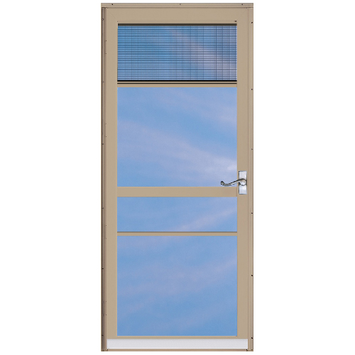 "Regal Deluxe 2 Lite Storm Door 32"" - Bronze"
