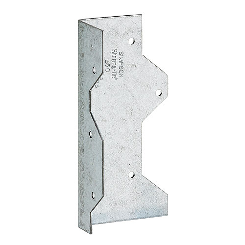 "Galvanized Steel ""L"" Angle 5"""