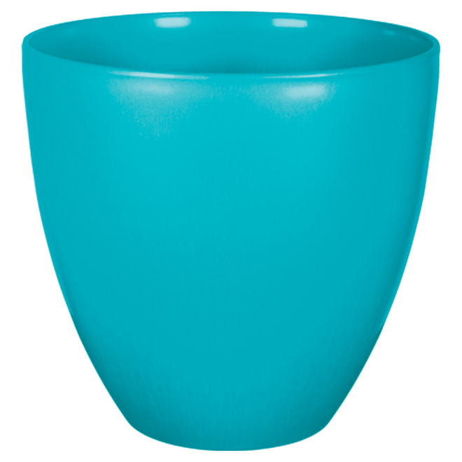 "Planter Pot - ""Egg"" - 13"" - Scuba Blue"