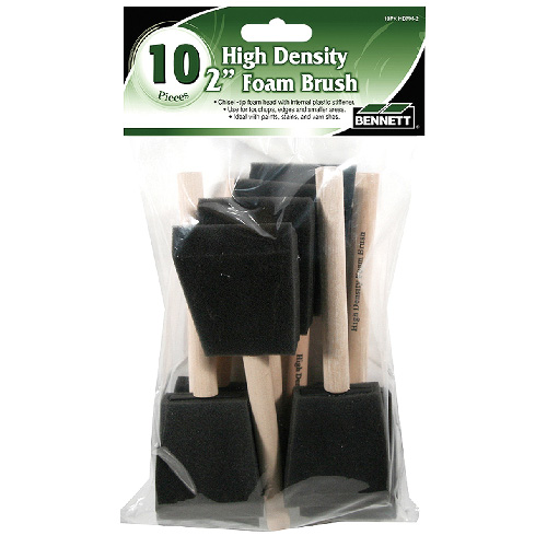 2-IN FOAM PAINT BRUSH 10/PK