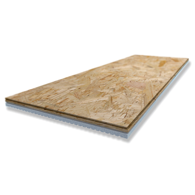 "Insulated OSB Subfloor Panel - 1"" x 16"" x 48"""
