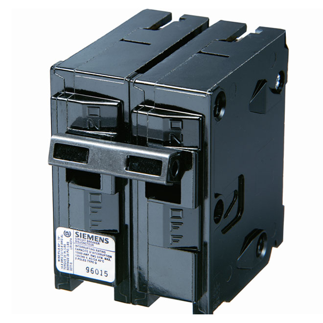 2-Pole Thermomagnetic Circuit Breaker