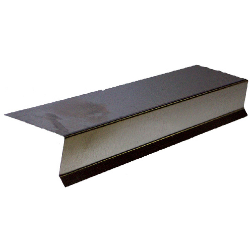Galvanized metal deck flashing 60 rona for Fenetre bois metal suisse