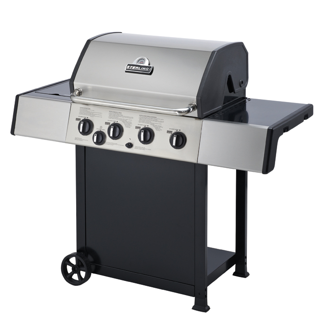 Propane Gas BBQ - 50,000 BTU - 644 sq.in.