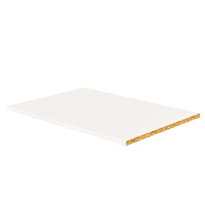 "Melamine Shelf - White - 5/8"" x 24"" x 30.5"""