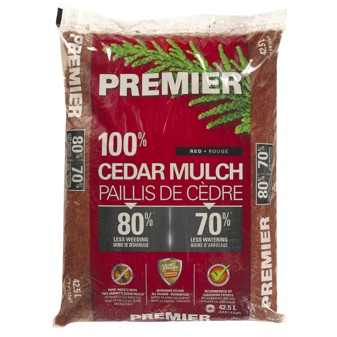 Red Cedar Mulch - 1.5 Cu. Ft.