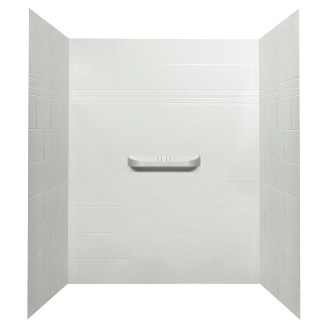 3-Piece Shower Wall - Supreme - 60""