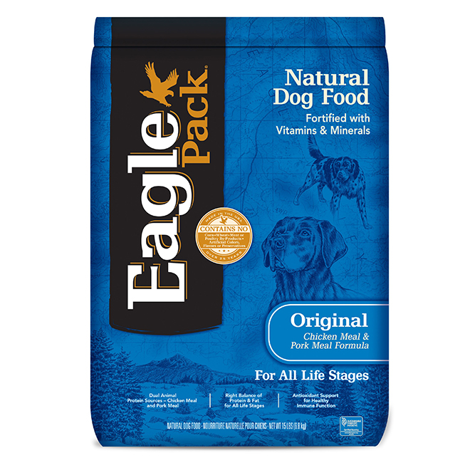 Chicken and Pork Dog Food - 15lbs