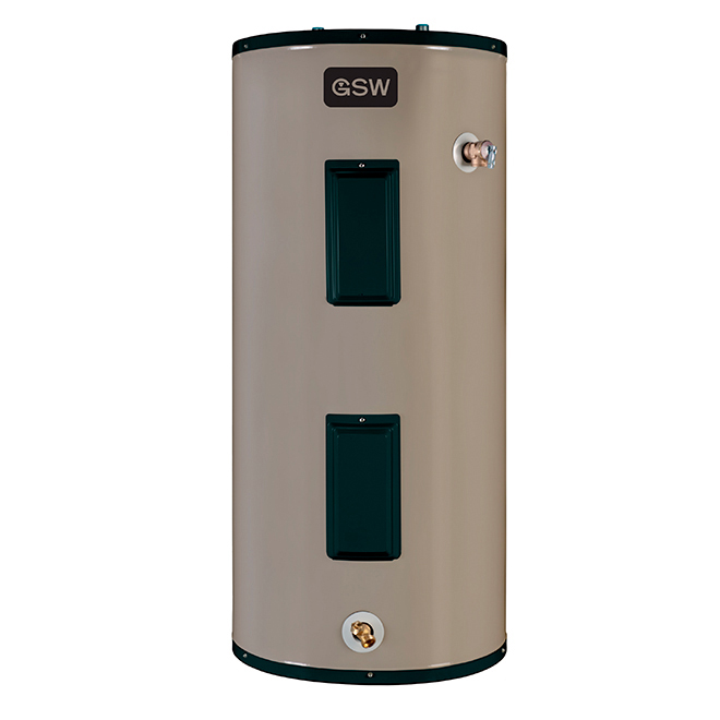 Dual Element Electric Water Heater - 182L - 240V - 3000W
