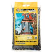 Bird Food - Wild Bird Black Oil Sunflower Seeds - 4 kg