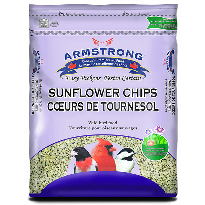 Bird Food - Easy Pickens Sunflower Chips - 1.8 kg