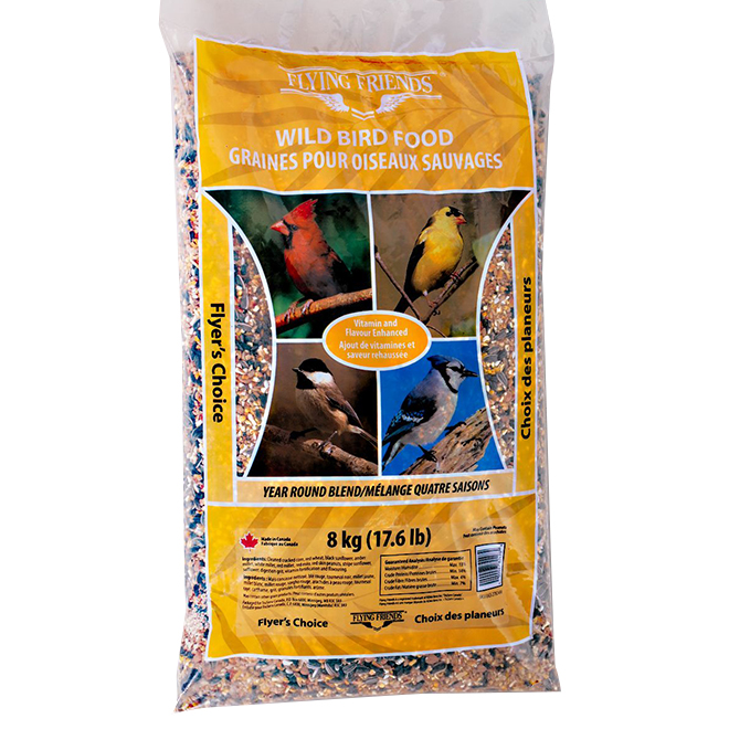 Wild Bird Food - Flyer's Choice - 8kg