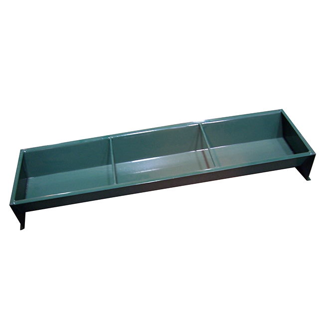 Hog Feeding Trough - 14 GA - 28 Gallon Capacity - 48""