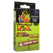 Campfire FX Colour Flames - Blue/Green/Purple - 3 Pack