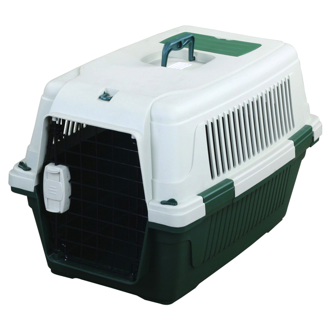 Tuff Crate Deluxe Pet Carrier - Green - 25'' x 16'' x 16''