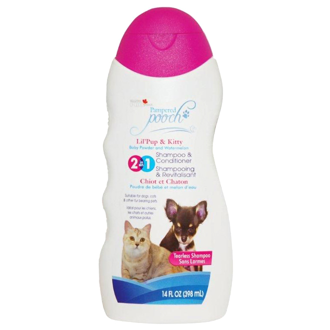Pampered Pooch Dog Shampoo - Baby Powder and Watermelon