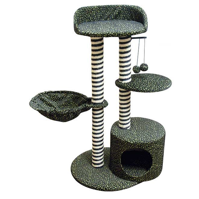 Deluxe Multi Step Cat Scratching Post - 30'' x 17'' x 36''