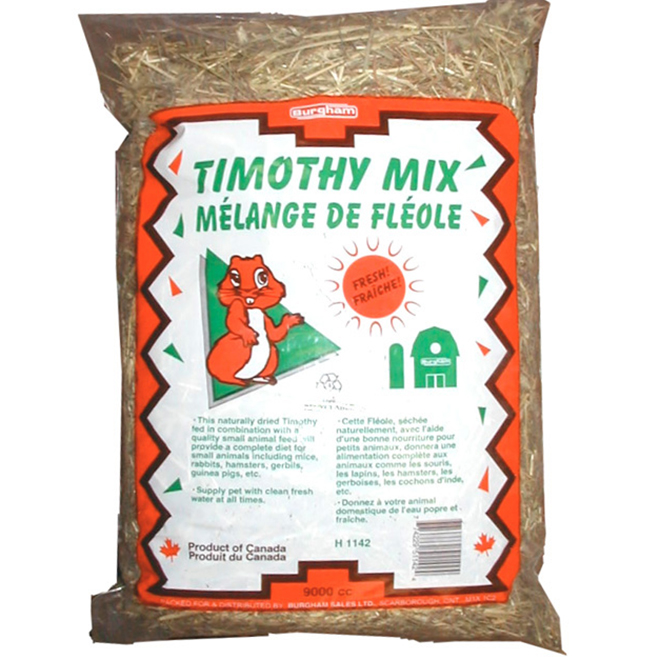 Timothy Mix Animal Treat - 9000 CC/Bag