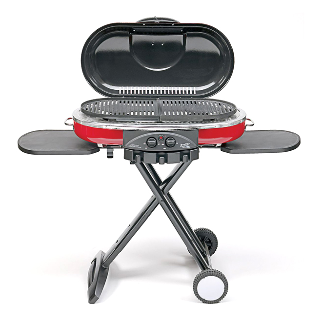 Propane Grill with Stand - Roadtrip - 20,000 BTU