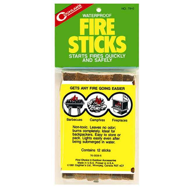 "Fire Sticks - 5"" - 12 Pack"