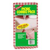Vinyl Tablecloth and Clamps Pack - 54
