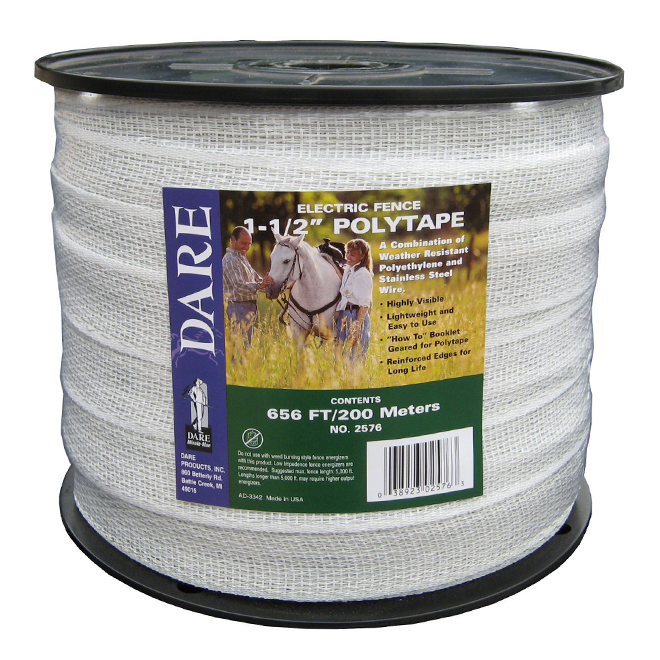 "Polytape - 15 Strands Stainless Steel Wire - 1/2"" x 656'"