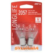 Car Long Life Miniature Bulb - 2057A - Pack of 2