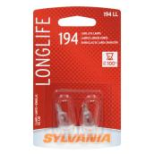 Car Long Life Miniature Bulb - 194 - Pack of 2
