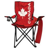 Folding Chair - High Back - Canada Flag