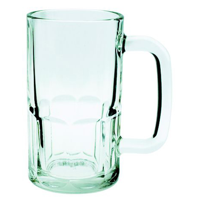 Beer Mug - 20 oz - Clear