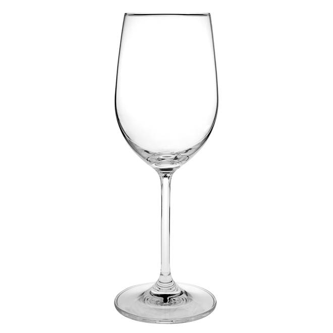 White Wine Glasses - Crystal - Pack of 4 - 12 oz