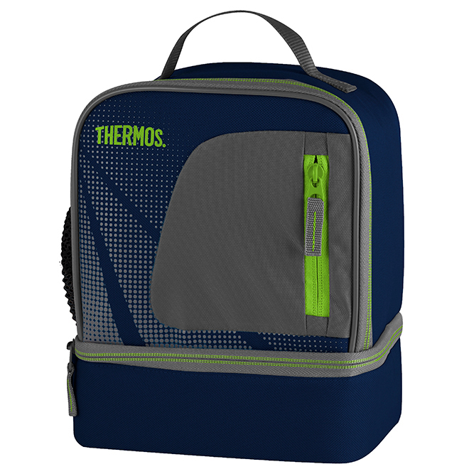 Dual Compartments Lunch Kit