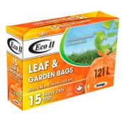Bags for Leaves/Garden - Pack of 15 - 121 L