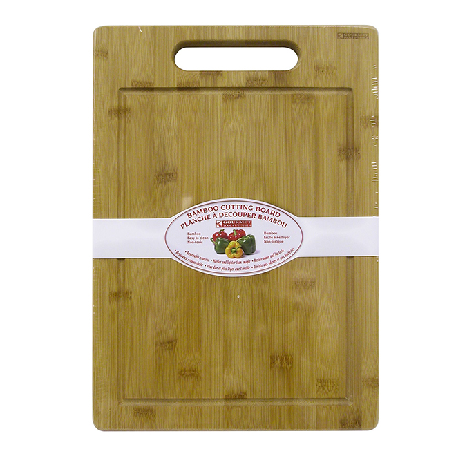 "Cutting Board with Handle - 11"" x 16"" - Bamboo"