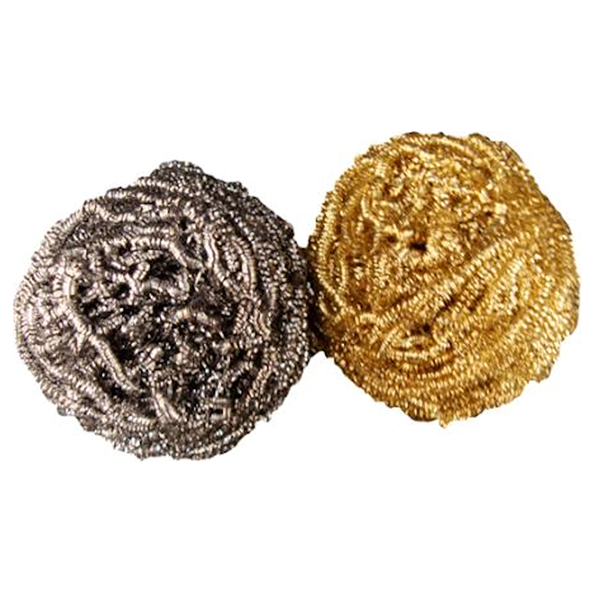 Scouring Pads - Steel/Brass